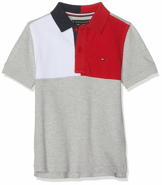 Tommy Hilfiger Boys' Colorblock Polo S/s Shirt