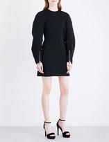 Versace Sleeve-detailed stretch-jersey dress