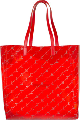 Stella McCartney Red Medium Stella Tote