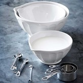 Williams-Sonoma Latte Mixing Bowl with Spout, Set of 3