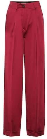 Valentino Silk satin trousers