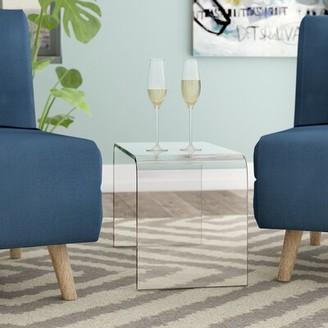 Orren Ellis Rudisill Acrylic End Table