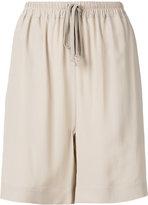 Rick Owens loose-fit shorts - women - Silk/Acetate - 40