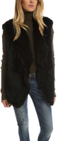 Elizabeth and James Isla Oversized Fur Vest