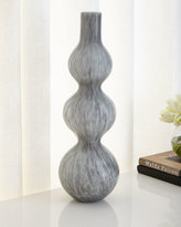 Global Views THREE BUBBLE VASE-LIGHT GREY