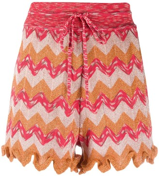 M Missoni Relaxed Woven Shorts