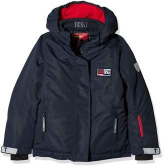 Ticket to Heaven Girls' Ski Jacke Madison m. Abnehmbarer Kapuze Jacket