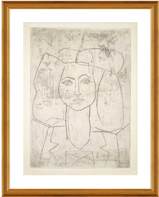 McGaw Graphics Portrait Of Francoise, Dressed... By Pablo Picasso
