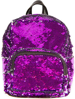 Fashion Angels Backpacks - Purple & Silver Magic Sequin 10'' Backpack