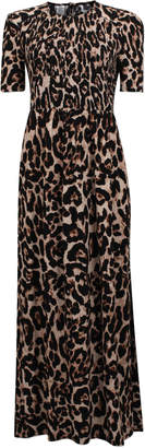 Baum und Pferdgarten Adamaris Animal Print Maxi Dress