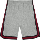 Gucci Web stripe cotton sweat shorts 4-12 years