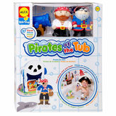 Alex Rub A Dub Pirates For The Tub Toy Playset
