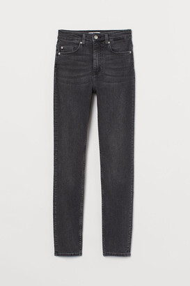 H&M Skinny High Jeans - Gray