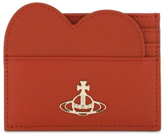 Vivienne Westwood Pimlico Heart Leather Card Holder