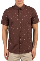 Volcom Men's High Ace Print Shirt