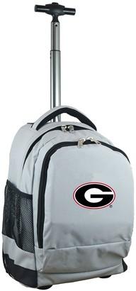Georgia Bulldogs Premium Wheeled Backpack