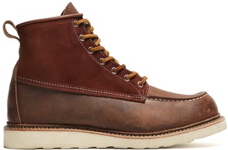 Red Wing Shoes Exclusive X Todd Snyder Moc Toe Boot in Copper
