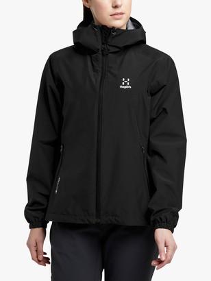 Haglöfs Betula Women's Waterproof Gore-Tex Jacket, True Black