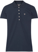 Ariat Prix Cotton-blend Piqué Polo Shirt - Navy