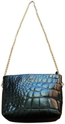 Loewe Black Crocodile Clutch bags
