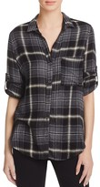 Bella Dahl Button Down Plaid Flannel Shirt