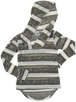 Erge Knit Sweater (Kid) - White/Olive-Small