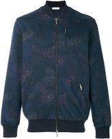 Etro printed bomber jacket - men - Cotton/Spandex/Elastane - S