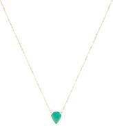 Ila Mason 14K Yellow Gold & Emerald Teardrop Pendant Necklace