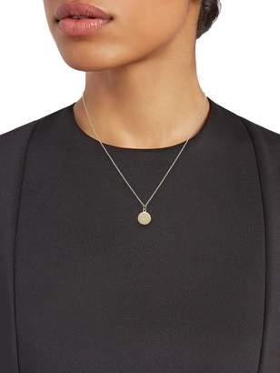 Sydney Evan 14K Yellow Gold & Diamond Pendant Necklace