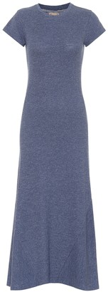 Polo Ralph Lauren Cotton jersey midi dress