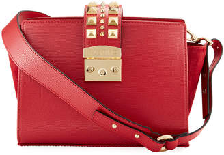 Mario Valentino Valentino By Kiki Palmellato Leather Crossbody Bag
