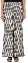 OndadeMar WOMEN'S GEOMETRIC-PRINT COTTON WIDE-LEG PANTS