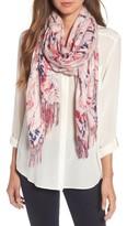 Nordstrom Women's Marble Tissue Wool & Cashmere Scarf