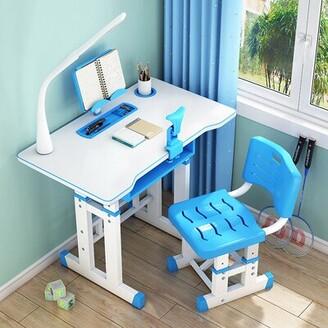 "Isabelle & MaxTM Cillian Children's Study 27.56"" Art Desk and Chair Set Isabelle & Max"