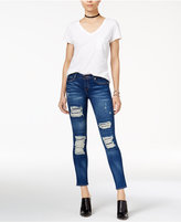 True Religion Halle Ripped Super Skinny Jeans