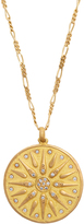 ORIT ELHANATI The Letter M diamond & yellow-gold necklace