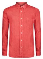 120% Lino Long Sleeve Linen Shirt