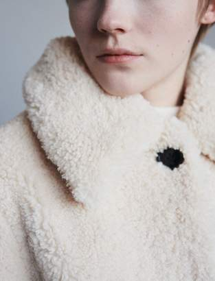 Maje Faux fur coat