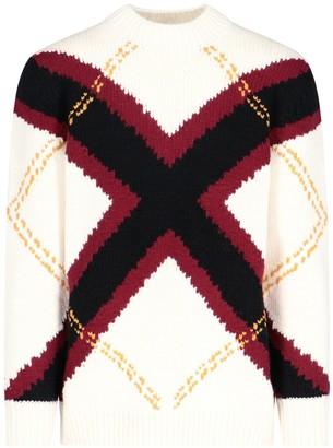 Alexander McQueen Cross Knitted Jumper