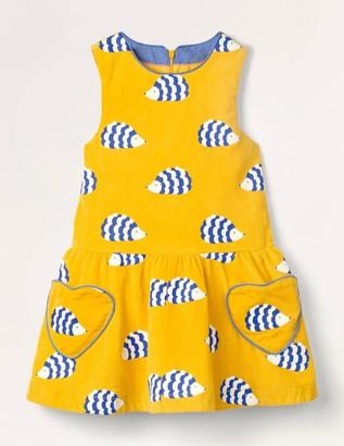 Heart Pocket Woven Dress