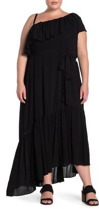 City Chic Beach Love One-Shoulder Maxi Dress (Plus Size)