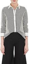 Giorgio Armani Women's Striped Cotton-Blend Shirt