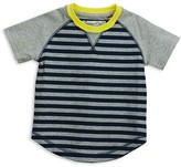 Sovereign Code Infant Boys' Contrast Sleeve Striped Tee - Sizes 12-24 Months