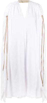 CARAVANA Poncho Style Dress