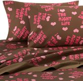 David and Goliath Night Life Sheet Set by , 100% Cotton Sateen, 300 Thread Count