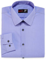 Jf J.Ferrar JF Easy-Care Solid Slim Fit Long Sleeve Dress Shirt