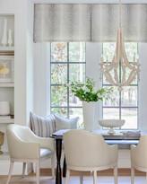 Emporium Home For William D Scott Grace Antique White/Milk Leather Dining Chair