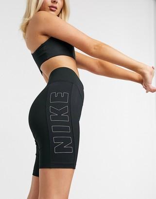 Nike legging shorts in black