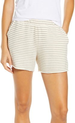 Project Social T Yana Stripe Shorts