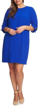 CeCe Tie Sleeve Shift Dress